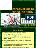 introduction to tool design