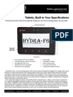 Custom Rugged Tablets, Built to Your Specifications