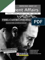 01 - January 2017 Current Affairs - Vanik Magazine
