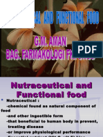 3.1.2.Nutraceutical and Functional Nutritional Food