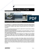 Toxics Pollution