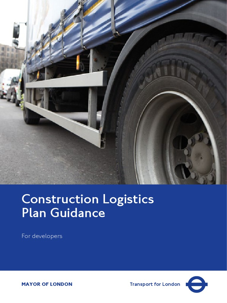 construction-logistics-plan-guidance-for-developers pdf | Logistics