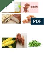 Print Gambar Jenis Makanan DM