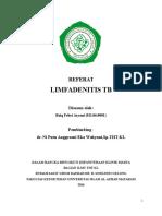 Referat Limfadenitis Tb