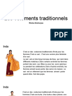 project - les vetements traditionnels  1