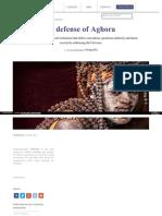 Pragyata Com  in Defense of Aghora 330