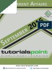 09-Current Affairs September 2016