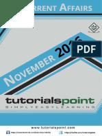 10-Current Affairs October 2016