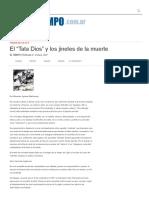 """El """"Tata Dios"""" y Los Jinetes de La Muerte – Diario El Tiempo _ ARCHIVO 2015"""