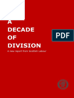 A Decade of Division