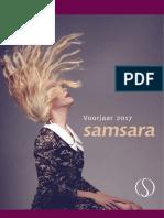 Samsara Folder Voorjaar 2017