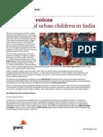 Urban Child India Report Summary