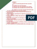 Charte Électronique 8 Eme