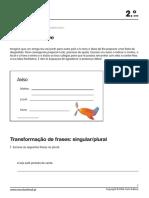 escrita+transformação de frases