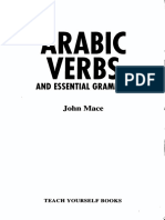 John Mace Arabic Verbs