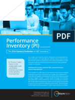Performance Inventory Solution San Francisco