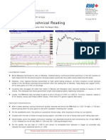 Market Technical Reading - Likely To Take A Breather After The Recent Rally... - 13/7/2010