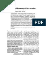 adelaja - the political economy of downzoning