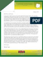 Pope Prayer Letter
