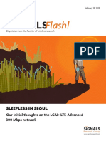 Telecom Magazine - Signals Ahead- Signals Flash 300 Mbps Network