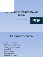 Cenozoic Stratigraphy of India.pptx