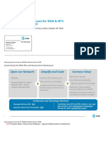 Carrier Drivers for SDN and NFV and the Case for CORD
