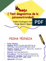 test psicomotricidad