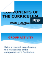 Curriculem Development Components