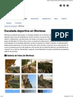 Escalada Deportiva en Montesa _ ValenciaClimb