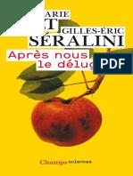 Apres nous le deluge _ - Pelt Jean-Marie, Seralini Gilles-Eric.epub