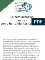 Comunicacion Como Uso de Herramientas Comunales