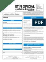 Boletín Oficial de la República Argentina, Número 33.588. 20 de marzo de 2017