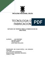 TP n°2 -cnc- Tecnologia de Fabricacion