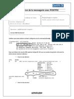 Configuration de La Messagerie Postfix