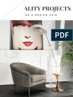 Hospitality Projects - Lighting & Design 2018