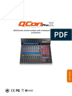 Qcon Pro X User Manual-English