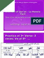 Entendiendo el quran para niños lección 4b