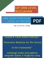 04. Lima Tahap Pencegahan (Dr. Arman, M.kes)