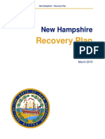 NH Disaster Recovery Plan 7-28-15 FINAL