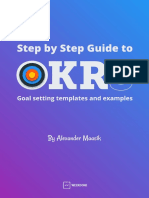 Step by Step Guide to OKRs