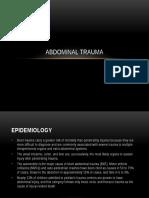 Abdominal Injury - Ian