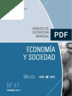 Economia y Sociedad - n 47 - Febrero 2017 - Paraguay - Portalguarani