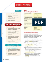 Mathmematics Course 1 Chapter 1 Study Guide Preview--Pg-4