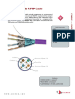 Siemon Tera 600mhz Fftp Cable International Spec Sheet