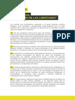 """Manifiesto """"El derecho, al servicio de las libertades"""" contra el planteamiento jurídico del proceso soberanista"""