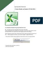 Membuka File Yg Terproteksi Pada Excel