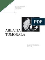 ablatia tumorala