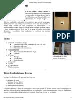 Calentador de Agua - Wikipedia, La Enciclopedia Libre