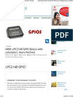 ARM_ LPC2148 GPIO Basics With Calculator_ Learn.pechnol - Pechnol