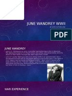 june wandrey wwii
